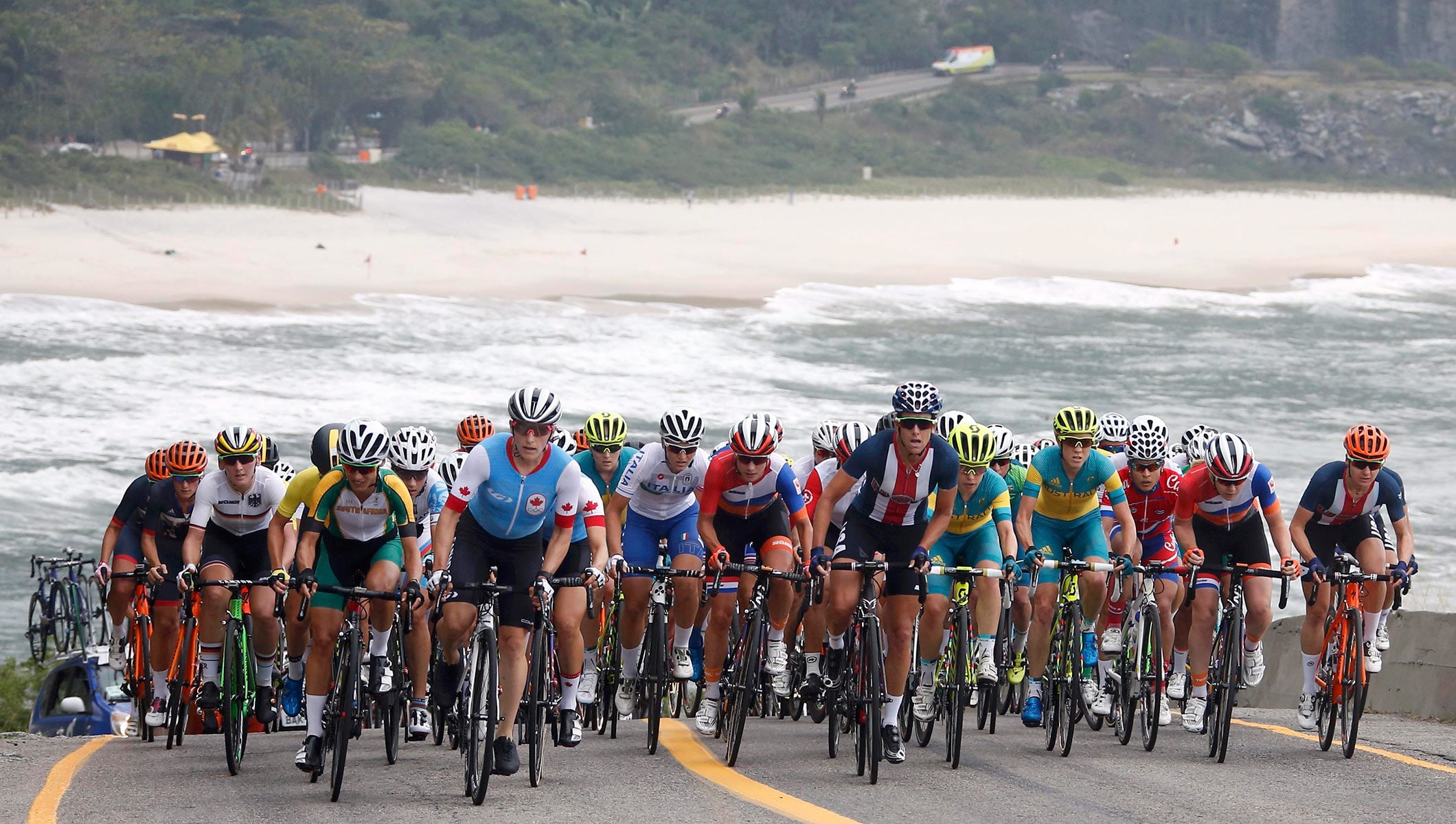 High Drama In Rio 2016 Road Races Olympic News