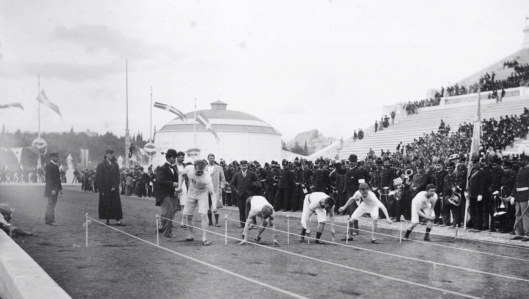 6 April 1896: the 100m opens the first Olympic Games of the modern era -  Olympic News