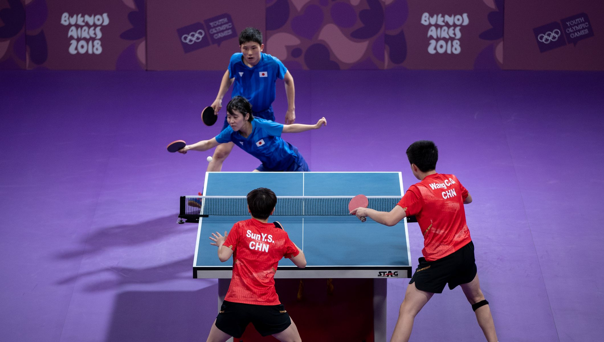 Table Tennis Summer Olympic Sport