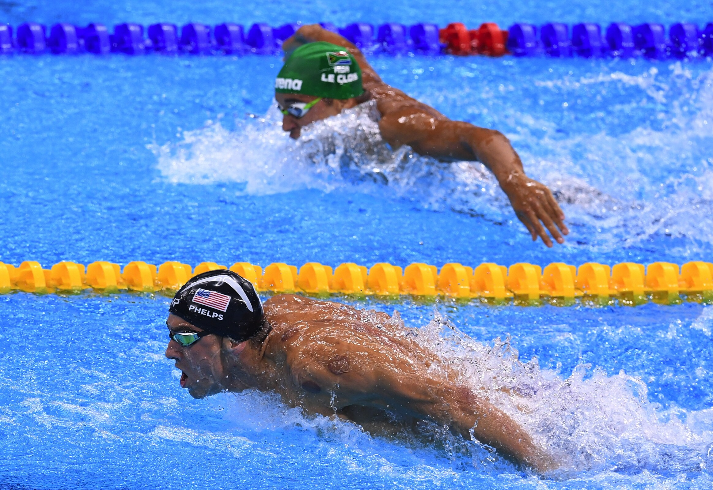 4x200m freestyle relay men - Olympic Swimming